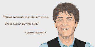 Ông hoàng quảng cáo, doanh nhân 76 tuổi người Anh - John Hegarty.